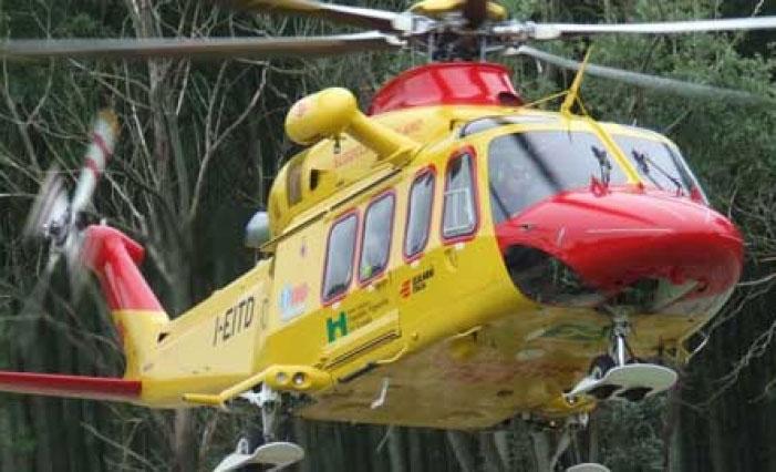 Elicottero Niguarda : Canneto durante una battuta di caccia spara in testa all
