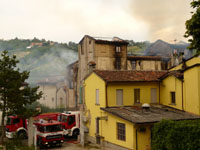 MULINO IN FIAMME